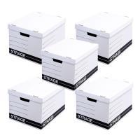 ストレージクラフトボックス 5個セット 日本製 A4サイズ対応 収納ボックス|asobi