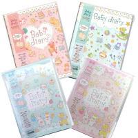 赤ちゃんの成長を可愛く記録!たけいみきさんデザインの柔らかなイラストの育児日記です。 楽しく簡単に短...