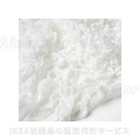 IKEA イケア OFELIA オフェーリア 毛布 ホワイト 130x170 cm 60173856