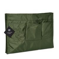 商品:バッグインバッグx1 サイズ:外寸340x235x30mm 収納サイズ:A4ファイルサイズまで...