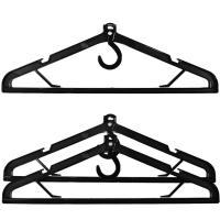 スーツケースやガーメントケースに使えるフック部回転式ハンガー  商品名:ガーメント用ハンガー 3本セ...
