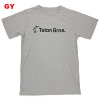ティートンブロス-Teton Bros. スタンダードロゴT男性用|asses|02