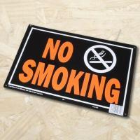 AP NO SMOKING アルミ看板【英語看板 プレート サイン パネル】【アメリカン 禁煙】【アストロプロダクツ】