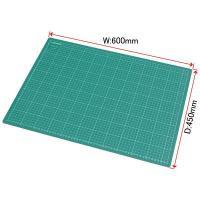 ■商品仕様: ・サイズ:W600×D450×T3mm ・材質:PVC ・1cm単位方眼罫入  ●ここ...