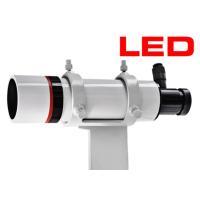 <B>Bresser社8倍50mm 90度正立(極軸)ファインダー 暗視野照明付き&lt...
