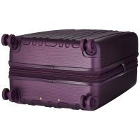 ヘドグレン ボストンバッグ レディース Transit Gate Medium Expandable Spinner Purple Passion