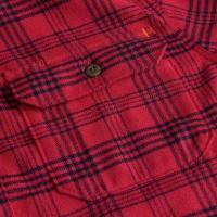 ベイスンアンドレンジ シャツ メンズ Woodside Fineline Plaid Midweight Quick-Dry Flannel Shirt - Men's Red Plaid
