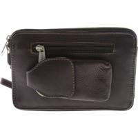 ピエールレザー メンズ ビジネス系 バッグ Organizer Bag 2290 Chocolate Leather