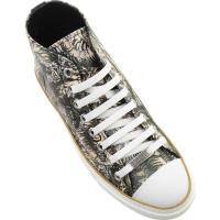 ロベルトカヴァリ メンズ スニーカー シューズ Mike High Top Sneaker Multicolor Leather