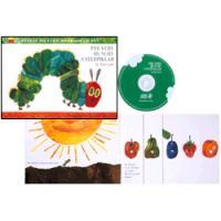 THE VERY HUNGRY CATERPILLAR (CD付き絵本)/はらぺこあおむし/エリック・カール/洋書絵本