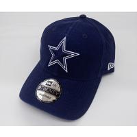NFLの人気チーム、ダラス・カウボーイズのアメフト帽子(コットン製)です。  デニム(ウォッシュ)生...