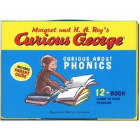 CURIOUS GEORGE CURIOUS ABOUT PHONICS (12冊)/おさるのジョージ フォニックス学習/洋書絵本