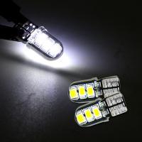 T10 LEDバルブ 3chip ホワイト PVC製 樹脂バルブ 2個セット ルームランプ ポジション ナンバー灯/ライセンスランプ バックランプ 保証付き LEDバルブ