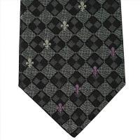 PATRICK COX パトリックコックス ネクタイ 約8.5cm グレー系 PC-016-GRAY