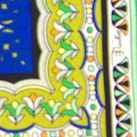 エミリオプッチ EMILIO PUCCI ネクタイ 8.5cm ブルー系 p7006x6