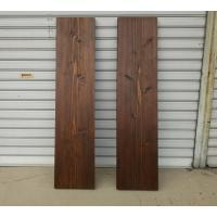 DIYに最適な、アンティーク調の杉無垢板です。 サンプル写真のように、木目や節が、いろいろな表情を見...