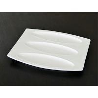 仕切り皿 プレート ダルトン ホテルライン 3インワンプレート バルケッタ シンプル ホワイト