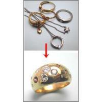 ジュエリーリフォーム、セミオーダーふっくらリング手作りk18(イエローゴールド)|atelier-ti