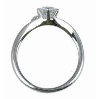 ジュエリーリフォーム、指輪リフォーム リング空枠0.5ct前後用/V字ワンポイントメレ|atelier-ti|03