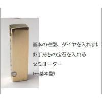 【遺骨ペンダント】セミオーダーK18イエローゴールド・完全防水可|atelier-ti|02