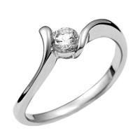 ジュエリーリフォーム、指輪リフォーム リング空枠0.2ct前後用/曲線デザイン|atelier-ti|02