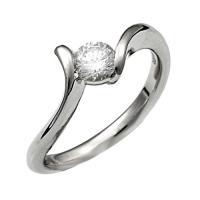 【ジュエリーリフォーム、指輪リフォーム】リング空枠0.5ct前後用/曲線デザイン|atelier-ti|02