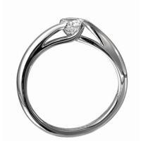 ジュエリーリフォーム、指輪リフォーム リング空枠0.2ct前後(直径3.5mm前後)用SS/ひねり4本爪|atelier-ti|03