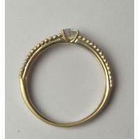 ジュエリーリフォーム、指輪リフォーム リング空枠0.2ct前後用/ミル打ち風テクスチャーk18|atelier-ti|02
