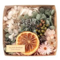 ハーバリウム花材 アンティークオレンジ花材セット 1ケース プリザーブドフラワー ドライフラワー