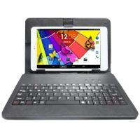 電話SMS対応Android 8インチタブレットPC対応レザーキーボード付ケース Android7....