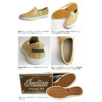 Indian Motocycle Company インディアン スリッポン チョコレート ソール スニーカー カジュアル シューズ 靴 (id-978)
