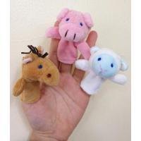 おうち型 バッグ 付き 動物 指人形 セット おもちゃ ベビー 出産祝い プレゼント atmack 02