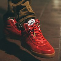 "PONY×atmos SLAMDUNK HI ""Big Apple Red""【14SS-S】 197..."