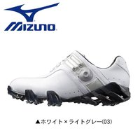 巛幅広 巛ソフトスパイク 巛ダイヤル式  mizuno GENEM Boa ゴルフシューズ ミズノ ...