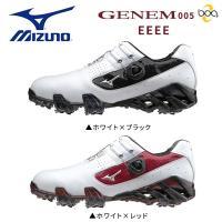 巛幅広 巛ソフトスパイク 巛ダイヤル式 巛28cm以上  MIZUNO GENEM Boa ゴルフシ...