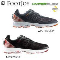 巛標準幅 巛ソフトスパイク 巛ダイヤル式  FOOTJOY HYPER FLEX boa ゴルフシュ...