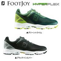 巛標準幅 巛ソフトスパイク 巛紐タイプ  FOOTJOY HYPER FLEX ゴルフシューズ フッ...