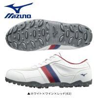 巛幅広 巛スパイクレス 巛紐タイプ 巛28cm以上  MIZUNO T-ZOID ゴルフシューズ ミ...