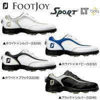 巛標準幅 巛ソフトスパイク 巛ダイヤル式  FootJoy SPORT LT Boa ゴルフシューズ...