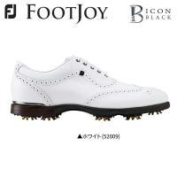 巛標準幅 巛ソフトスパイク 巛紐タイプ  FootJoy ICON Black ゴルフシューズ フッ...