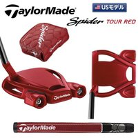 巛マレット 巛ベントネック  TaylorMade Spider Tour Red メンズ(クラブ)...