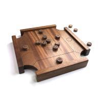 カロム ミニサイズ 盤 玉 セット 木製ボードゲーム LIFE Wooden Carrom mini キャロム おはじき ビリヤード 木工 日本製 ウッドボード 木のおもちゃ