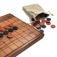 オセロ おしゃれなウッド&レザー リバーシ 木製ボードゲーム LIFE Wood & Leather Reversi 木工 日本製 オセロ ウッドボード 木のおもちゃ