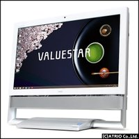 PC-VN770RSW-E3 中古 パソコン 液晶一体 64bit Blu-ray 無線LAN 地デ...