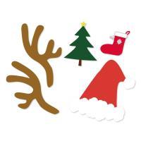 クリスマスデザインフォトプロップス!素敵な思い出を作ろう!【結婚式・誕生日・二次会・パーティー・ウェ...