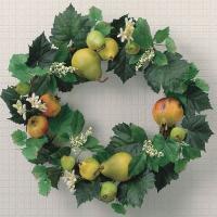 光の楽園 フルーツリース 86A35【Artificial flower Houseplant】【光触媒 造花 人工 観葉 植物 ギフト アレンジメント アート イミテーション】
