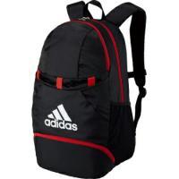 [adidas]アディダス バックパック ボール用デイパック 27L (ADP28BKR) ブラック/レッド[取寄商品]