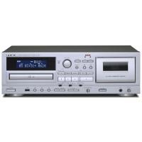 「AD-850」はUSBメモリーによる録音・再生に対応した、カセットデッキとCDプレーヤーの複合機で...
