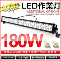 商品仕様  セット内容:ランプ×1個、ネジ×1式 LED Power:180W(合計:60pcs X...