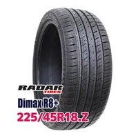 サマータイヤ ■Radar Dimax R8+ 225/45R18 95Y:外径:659mm 幅:2...